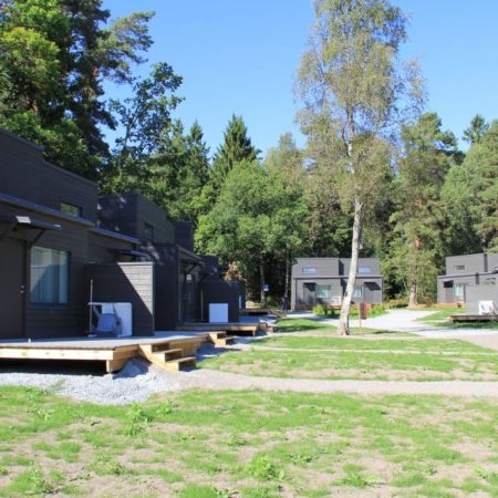prefab camping houses project