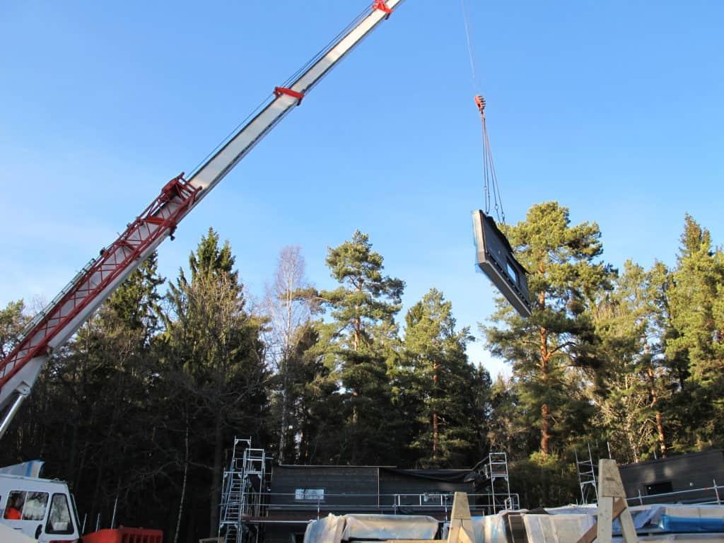 prefab trähus camping houses project