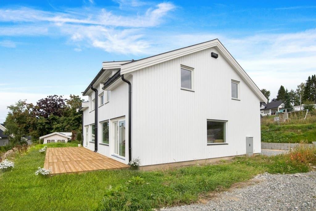 Prefab twin house