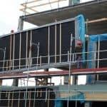 wooden infill panels install